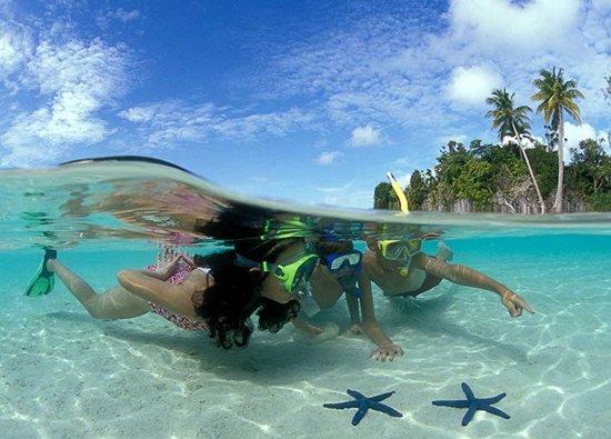 Palau: Kids enjoying the islands.