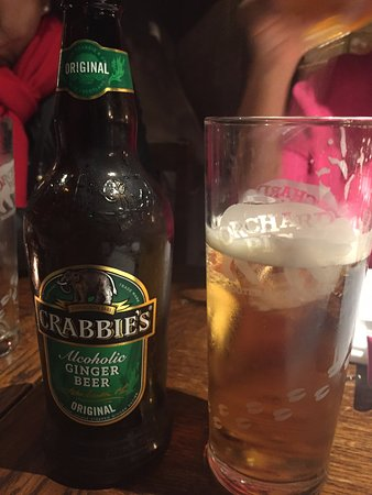 Winkfield, UK: Alcoholic Crabbie's ~ A Great Find