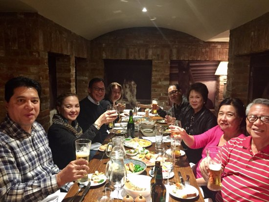 Winkfield, UK: Here's A Toast To Friendship & Fun