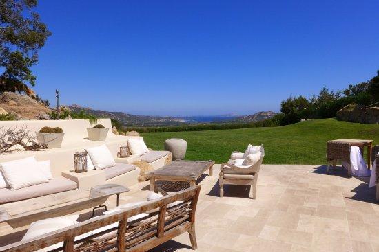 Petra Segreta Resort & Spa: Terrasse mit Blick in die Ewigkeit