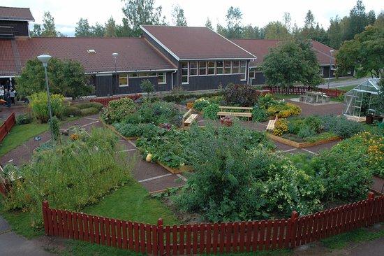 Leksand, Sweden: Gröna Rum, trädgård för alla sinnen
