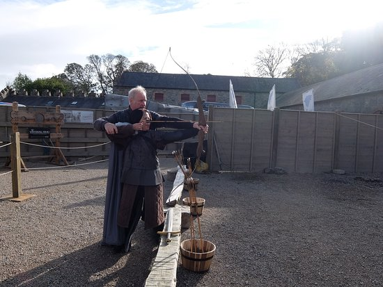 Downpatrick, UK: Lord Will was also the real-life trainer of the GoT cast!