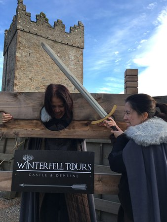 Downpatrick, UK: Add more fun to your experience by re-enacting scenes!