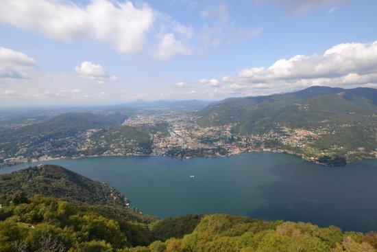 Brunate, Ιταλία: uitzicht