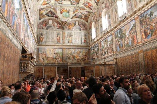 Sixtinische Kapelle: Cappella Sistina