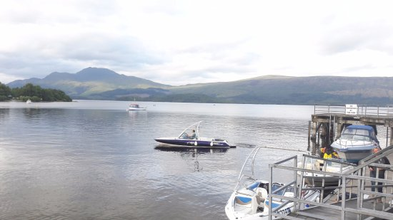 Luss, UK: A pier with a view!