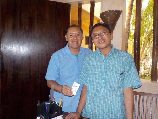 Barrio Latino Hotel : Servicio excelente a cargo de Carlos Chiclin.