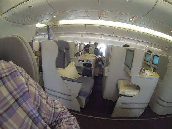 Business Class Seat On Cz300 Boeing