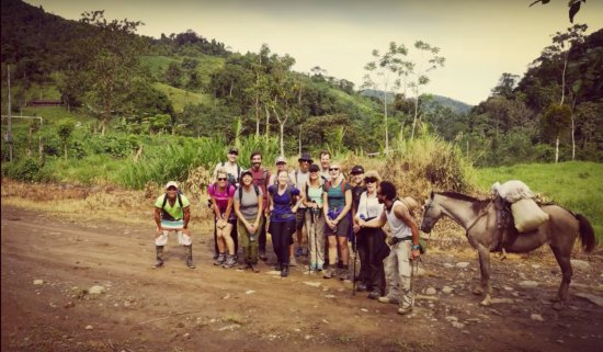 Autentico Adventures: Hike into the rainforest into remote villages :)