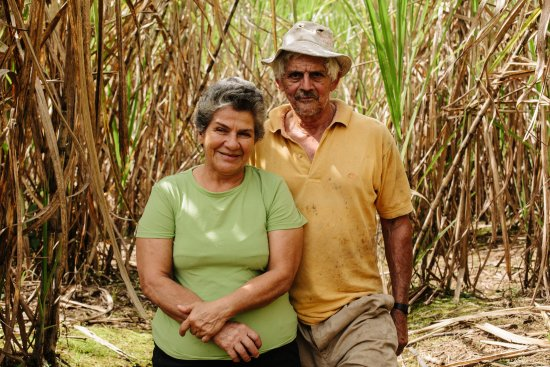 Autentico Adventures: Doña Flor and Don Ormidas welcome you to their home in the rainforest, where they live.