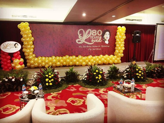 My Grandmas 80th Birthday Party Novotel Gajah Mada Ballroom
