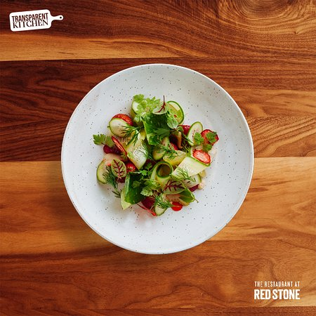 Beamsville, Canada: Strawberry & Cucumber Salad