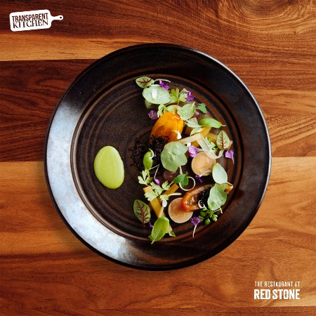 Beamsville, Canada: Foie Gras with Tomato & Rhubarb