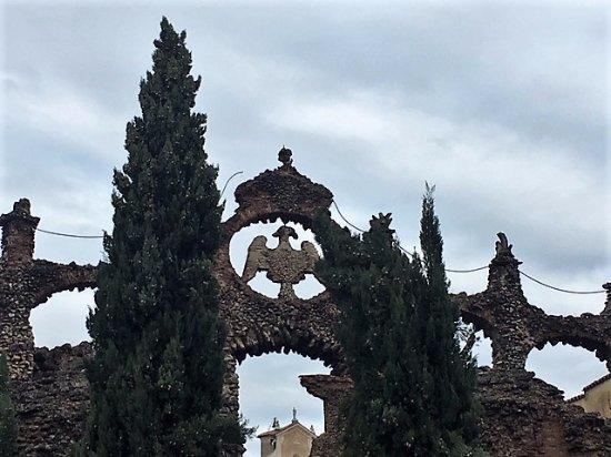 Sassuolo, Peschiera Ducale: l'aquila estense