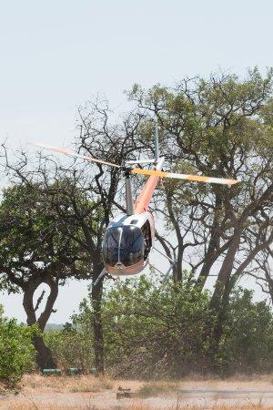 Maun, Botswana: Helicopter