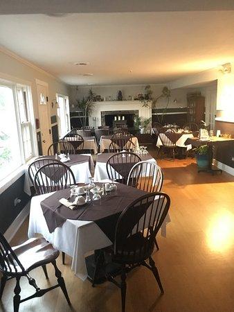Marlboro, Βερμόντ: Breakfast Room.