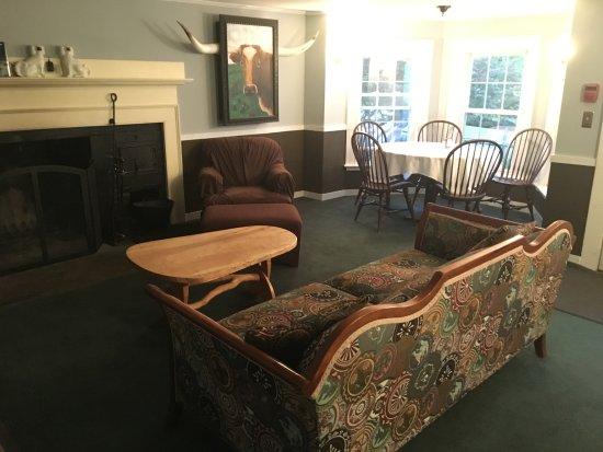 Marlboro, VT: Guest Sitting Room.