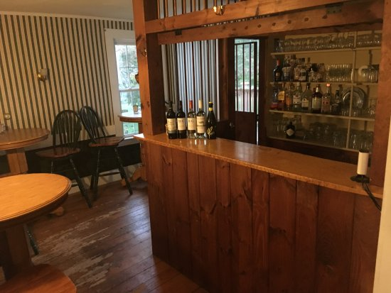 Marlboro, VT: Small Bar Area.