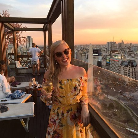 Panamericano Buenos Aires Hotel: Rooftop sunsets