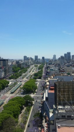 Panamericano Buenos Aires Hotel: Rooftop view