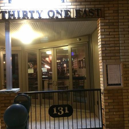 One Thirty One East: Cafe Front