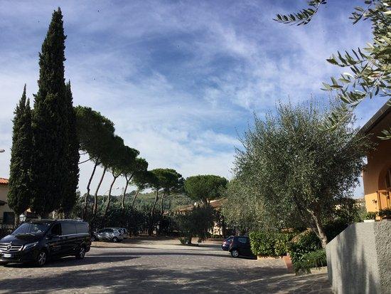 Poggio a Caiano, Itália: Parcheggio privato