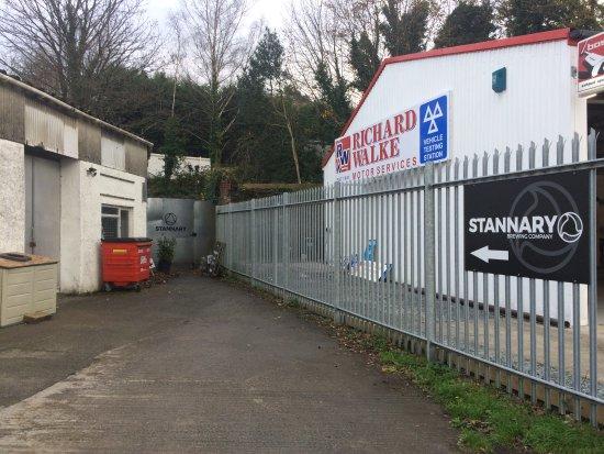 Tavistock, UK: At the end in the corner.