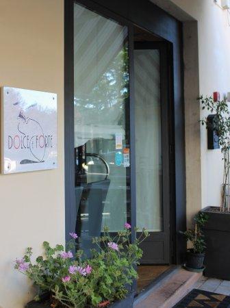 Montespertoli, Italy: Foto ingresso Ristorante Dolce e Forte