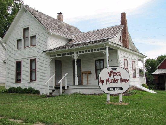 Villisca Axe Murder House: Photo of the Axe Murder House