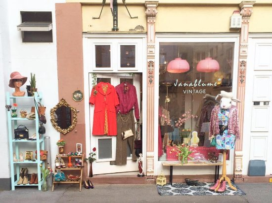 Mainz, Germany: Janablume Vintage Shop