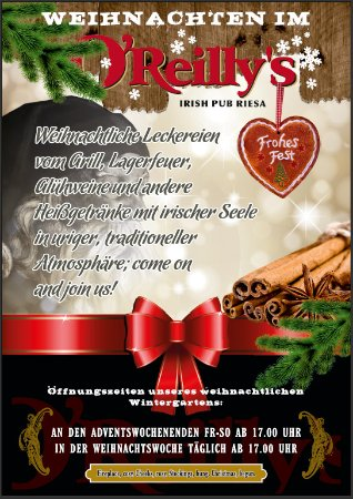 Riesa, Niemcy: Christmas 2017