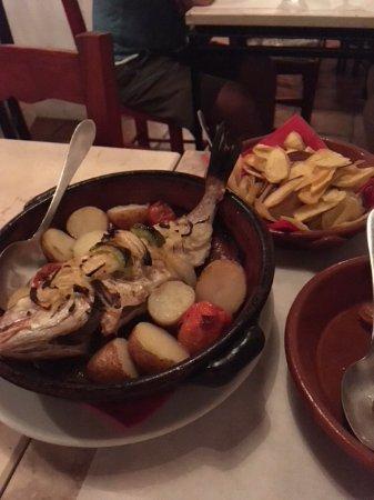 Budens, Πορτογαλία: Heerlijke Seabream