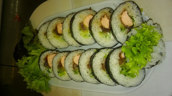 Pyszne I Jedyne W Polanicy Zdroj Sushi Picture Of Fabryka Smaku