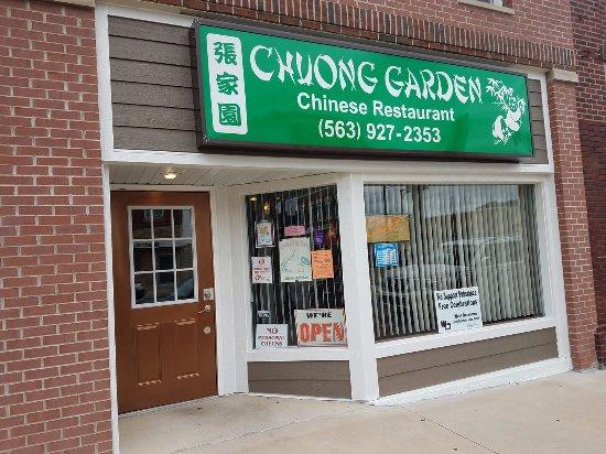 Chuong Garden in Manchester, Iowa