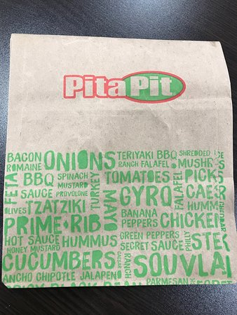 Bettendorf, IA: Healthy choice!!!!  Small Pita is great portion.