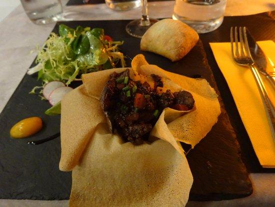 Asserac, فرنسا: Salade de foie de volaille