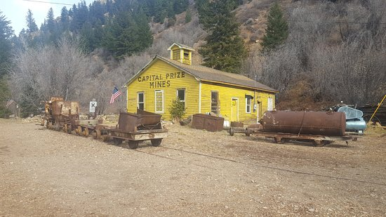 Capital Prize Gold Mine Tour