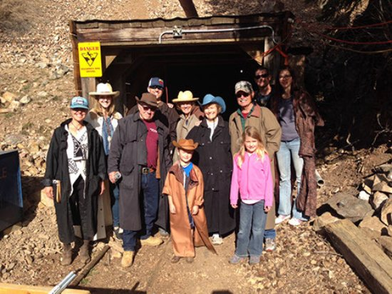 Georgetown, CO: Entrance, or portal, to the mine. If the mine is one-way in and one-way out it is called an ADIT