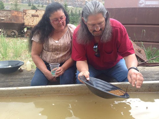 Georgetown, CO: Learning how to gold pan.