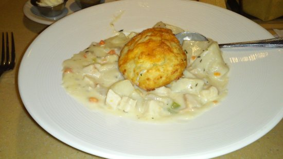 Wyomissing, Пенсильвания: Chicken pot pie