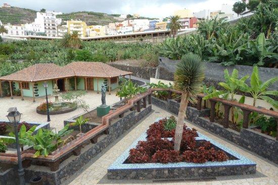 Museo del Plátano de Tazacorte: Museo del Platano - views from the balcony