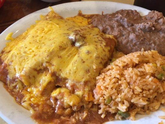 George West, TX: Enchilada Special