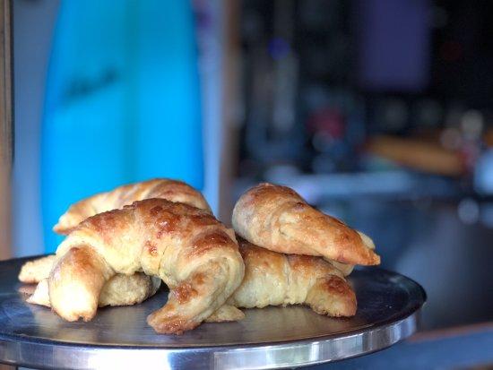 Playa Grande, Costa Rica: Every day fresh bakery croissants