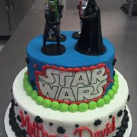 Remarkable Starwars Cake Picture Of Lybrands Bakery Deli Pine Bluff Funny Birthday Cards Online Hetedamsfinfo