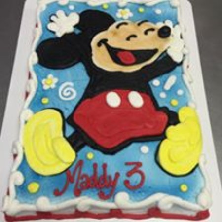 mickey mouse cake - Picture of Lybrand's Bakery and Deli, Pine Bluff