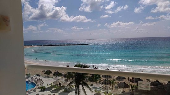 Krystal Cancun: Vista do meu quarto