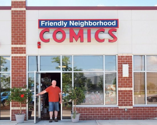 ‪Friendly Neighborhood Comics‬