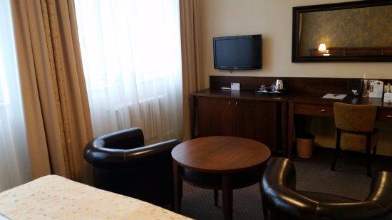 Zlin, جمهورية التشيك: Oddychová časť izby.