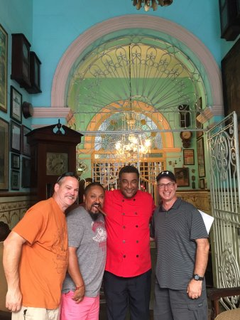 San Cristobal Paladar: The Chef! Great person!