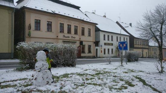 Horni Blatna, Czech Republic: Schneemann